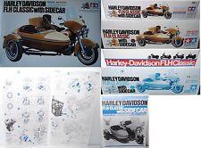 Tamiya 16018 Harley Davidson FLH 1200 Classic mit Beiwagen Bausatz 1:6 OVP