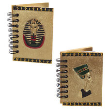BLOC NOTE EGYPTIEN DORE LOT DE 2 ASSORTIS