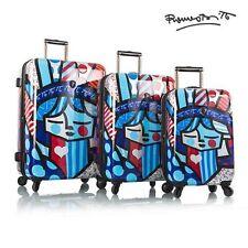 "Heys Romero Britto Freedom 3 Piece Set Spinner luggage Set 22"" 24"" 30"""