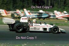 Damien magee williams FW03 swedish grand prix 1975 photo