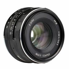 Meike MK-E-50mm-f/2.0 Large Aperture Manual Focus Lens APS-C For Sony E Mount