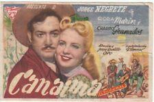 Image / programme—Film mexicain «Canaima»—Jorge Negrete—Espagne—1945