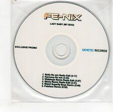 (GO204) Fe-Nix, Lady Baby (My Boo) - DJ CD