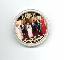 Gibraltar One Crown 2017 The Platinum Wedding Anniversary