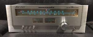 Marantz 2020 AM/FM Stereo Tuner / TESTED /