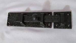 Vintage Style Cast Iron Gate Door Barn Slide Latch Bolt Lock Hardware Large