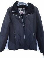 Zero Xposur Woman's Black Ski Jacket, 4 Zipper Pockets, Zipper Close Size S.