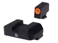 AMERIGLO Pro I Dot Orange Night Sights for Glock 17 22 34 35 37 9mm 40cal .357