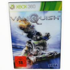 Vanquish XBOX 360 Pappschuber Videospiel Videospiele Game Gaming Games spielen