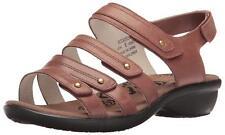 Propet Women's Aurora Wedge Sandal Leather 10 Narrow 2A Diabetic Footwear