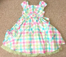 Jona Michelle Easter Holiday Party Formal Dress Pink Blue Green Layer White 6X