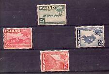 Islandia Paisajes Union Postal Universal Serie año 1949 (DY-50)