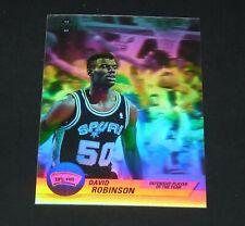 HOLOGRAM ROBINSON SAN ANTONIO SPURS 1992-1993 NBA BASKETBALL UPPER DECK CARD