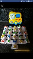 Leapfrog Fridge Phonics Magnetic Letter Set Alphabet Bus Sounds Musical.