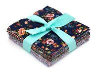 "96 New Vintage Floral Shabby chic precut charm 5""  100% cotton fabric quilt"