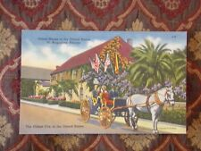 Vintage Postcard Oldest House In The United States. St. Augustine, Florida