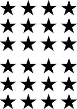 PATT - STAR - Stars -Vinyl Wall Decal DIY Wallpaper ©YYDC (Size & Color Choices)