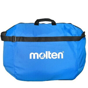 Molten 6 Ball Volleyball Carry Bag In Blue