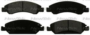 Disc Brake Pad Set-Galaxy Ceramic Disc Pads Front NewTek SCD1363