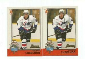JONATHAN CHEECHOO 1998-99 BOWMAN CHL ROOKIE CARD #142