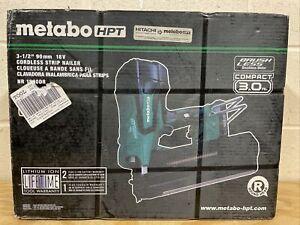 METABO HPT NR1890DR 18V 21-Degree 3-1/2-in Cordless Strip Nailer Open Box NEW