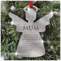 Christmas Decorations Memorial Baubles PERSONALISED Gifts Xmas Tree Mum Dad Nan
