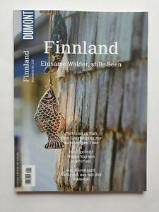 DUMONT Finnland,Einsame Wälder,stille Seen,    Nr.212  Top Zustand