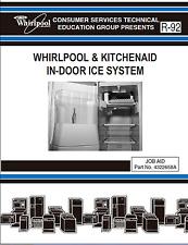 Whirlpool & KitchenAid In-Door Ice Maker System Service Repair Manual