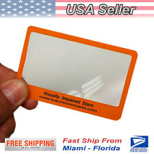 Magnifier Fresnel Card - Low Vision MIami -LUPA TIPO TARJETA
