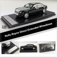 1:64 Scale Rolls Royce Ghost Extended Wheelbase Diecast Car Model Toy Vehicles