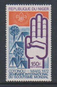 Niger - 1972, International Scout Seminar stamp - MNH - SG 427
