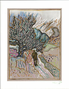BILLY CHILDISH SIGNED AND NUMBERED UNDER THE OLD JUNIPER TREE GICLEE 2015 MINT