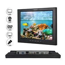 12'' JSW121H FHD TFT LCD CCTV Monitor BNC/VGA/AV/HDMI Video Display For Home DVR