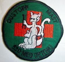 Patch - 82nd MEDICAL DET - HELICOPTER AMBULANCE - DUSTOFF - Vietnam War - 4856