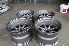 "JDM 15"" Banana pcd114.3x4 Staggered wheels rims watanabe ae86 ta22 gc10 RS"