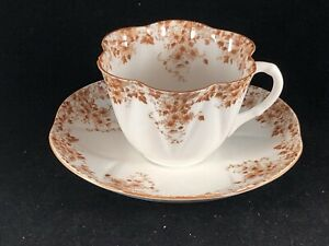 Shelley Dainty Daisy Brown Cup & Saucer