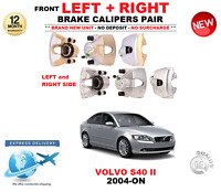 FOR VOLVO S40 II BERLINA 2004-ON 2 X FRONT LEFT + RIGHT BRAKE CALIPERS PAIR SET