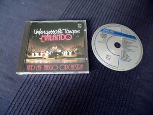 CD Malando Arie Maasland & Orchestra UNFORGETTABLE TANGOS Philips WGerm HaFaBra