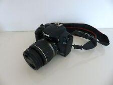 Canon EOS 1000d 10.1mp cámara digital-negro con lente 18-55mm