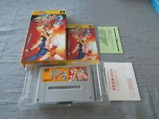 >> FINAL FIGHT II 2 CAPCOM SFC SUPER FAMICOM JAPAN IMPORT COMPLETE IN BOX! <<