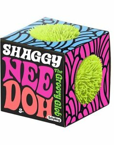 Shaggy Nee Doh Stress Ball Squeeze Schylling NEEDOH SHND Green Blue Purple Pink