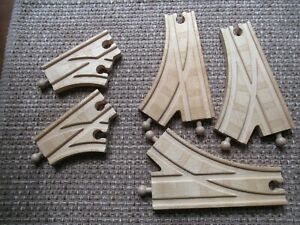 Thomas and Friends 5 Piece Wooded Switch Track