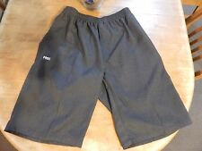 2 x SCHOOL UNIFORM Patterson River Secondary Sz L GREY SHORTS With Logo