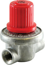 "0-10PSI COMPACT ADJUSTABLE REGULATOR PROPANE NATURAL GAS 1/4"" NPT 1.2M BTU AIR"