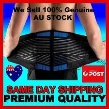 Deluxe Neoprene Lumbar Lower Back Waist Support Brace Posture Waist Trimmer AU