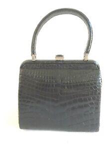 Giorgio's of Palm Beach Black Alligator Leather Handbag $6900