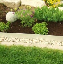 10 Pack Lawn Edging Border Lawn V2A Stainless Steel 14 cm high