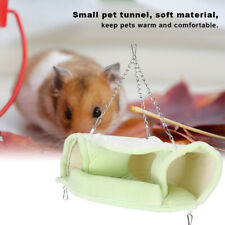 Small Pet Tunnel Hammock Toy Winter Warm Sleeping Bed for Hamster Ferret