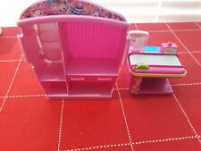 Shopkins Supermarket  Conveyor Belt Checkout & Revolving shelf unit Playset Pink