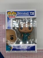 FUNKO POP! Television Scrubs Turk Vinyl Figure #738 BOX WEAR F03